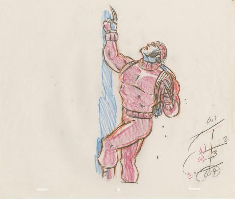 X-Men Production Drawing - ID: octxmen20820 Marvel