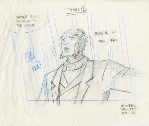X-Men Production Drawing - ID: octxmen20821 Marvel