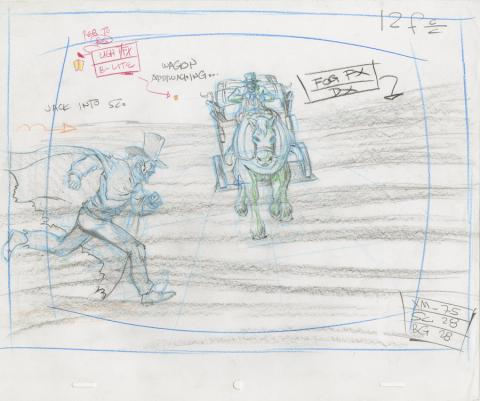 X-Men Production Drawing - ID: octxmen20822 Marvel