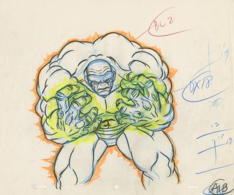X-Men Production Drawing - ID: octxmen20823 Marvel