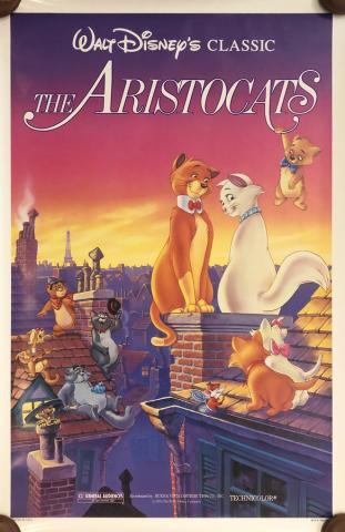 The Aristocats Walt Disney Classic One-Sheet Poster - ID: septaristocats20059 Walt Disney