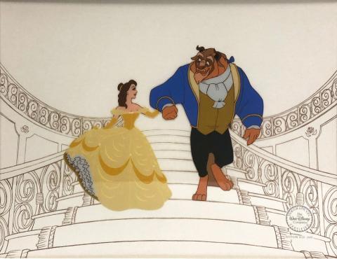 Beauty and the Beast Sericel Walt Disney