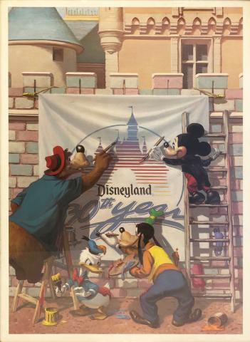 Magic Smiles II The Painters Charles Boyer Limited Edition Disneyana