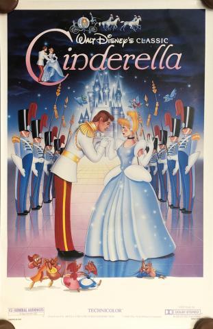 Cinderella Walt Disney Classic One-Sheet Poster - ID: septcinderella20057 Walt Disney