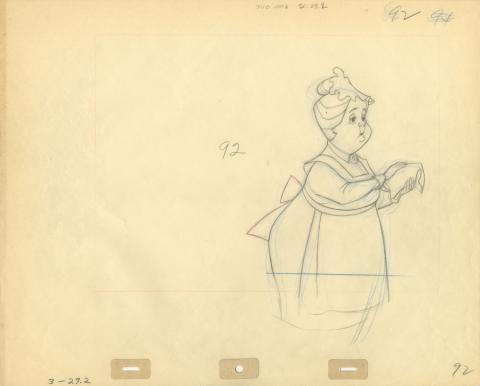 101 Dalmatians Production Drawing - ID: septdalmatians20320 Walt Disney