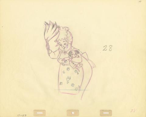 101 Dalmatians Production Drawing - ID: septdalmatians20323 Walt Disney