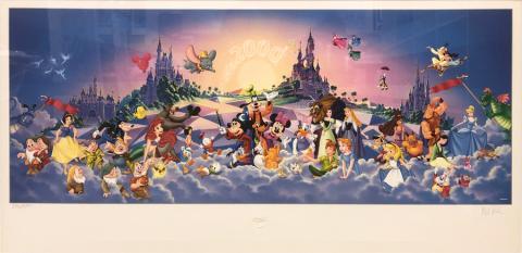 Disney Cruise Print - ID: septdisneyana20025 Disneyana