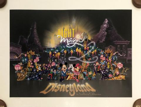 Light Magic Charles Boyer Limited Edition Lithograph - ID: septdisneyana20060 Disneyana
