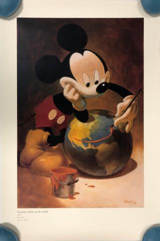 Putting a Smile on the World Print - ID: septdisneyana20061 Disneyana