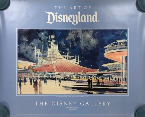 Space Mountain Complex Disney Gallery Print - ID: septdisneyana20062 Disneyana