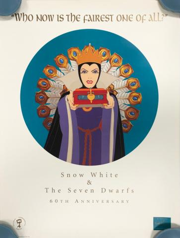 Snow White and the Seven Dwarfs 60th Anniversary WDCC Print - ID: septdisneyana20065 Walt Disney