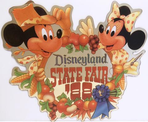 Disneyland State Fair Lamppost Sign - ID: septdisneyland20010 Disneyana