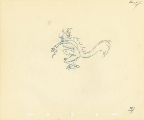 Fantasia Production Drawing - ID: septfantasia20253 Walt Disney