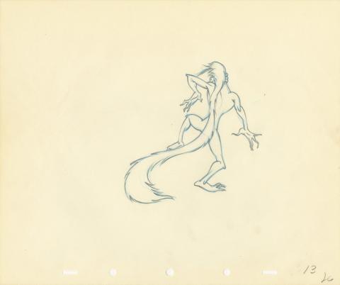 Fantasia Production Drawing - ID: septfantasia20255 Walt Disney