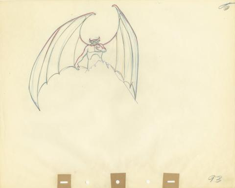 Fantasia Production Drawing - ID: septfantasia20260 Walt Disney
