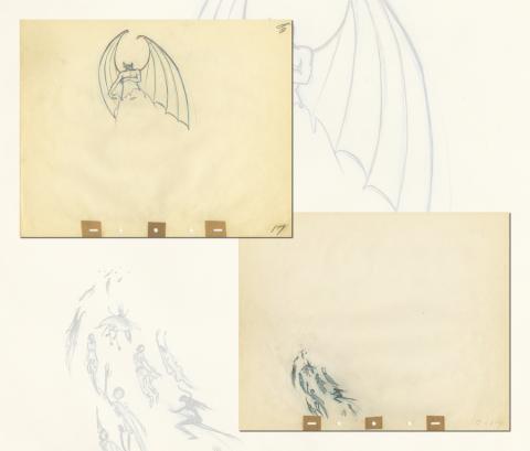 Fantasia Production Drawing - ID: septfantasia20265 Walt Disney