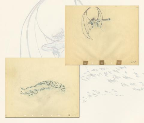Fantasia Production Drawing - ID: septfantasia20273 Walt Disney