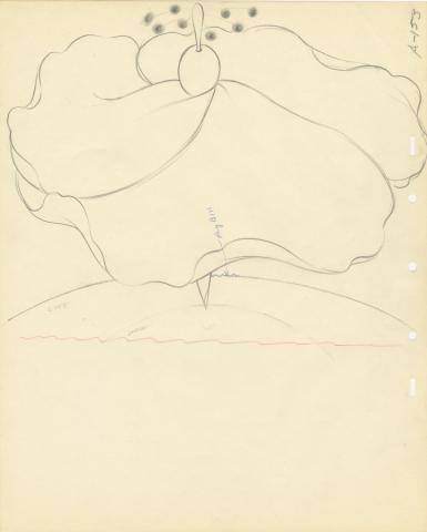 Fantasia Production Drawing - ID: septfantasia20311 Walt Disney