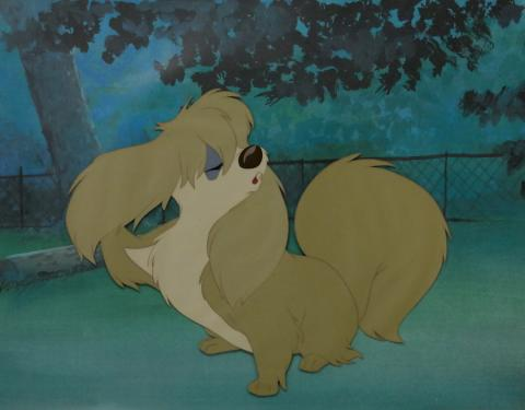 Lady and the Tramp Production Cel and Background - ID: septladytramp2504 Walt Disney
