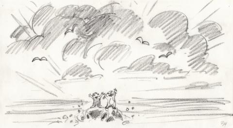 Lilo and Stitch Storyboard Drawing - ID: septlilo20051 Walt Disney