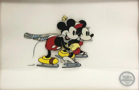 Mickey & Minnie On Ice Sericel - ID: septmickey20077 Walt Disney