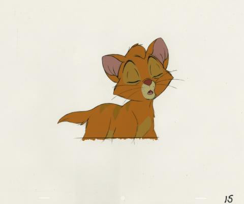 Oliver and Company Production Cel - ID: septoliver20108 Walt Disney