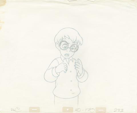 Pagemaster Production Drawing - ID: septpagemaster20112 Fox