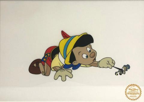 Pinocchio Limited Edition Sericel - ID: septpinocchio20070 Walt Disney