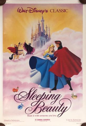 Sleeping Beauty Walt Disney Classic One-Sheet Poster - ID: septsleeping20049 Walt Disney