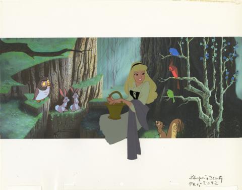 Sleeping Beauty Model Cel - ID: septsleepingbeauty20120 Walt Disney