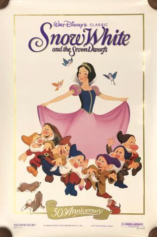 Snow White and the Seven Dwarfs Walt Disney Classic One-Sheet Poster - ID: septsnowwhite20058 Walt Disney