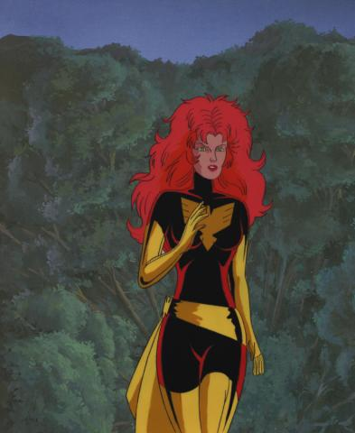 X-Men Production Cel - ID: septxmen2898 Marvel