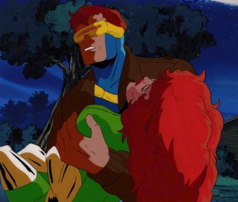 X-Men Production Cel & Background - ID: xmen32042 Marvel
