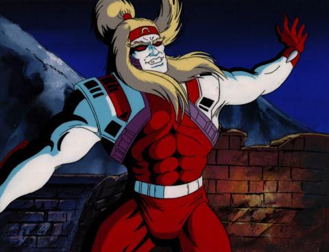 X-Men Production Cel & Background - ID: xmen3605 Marvel