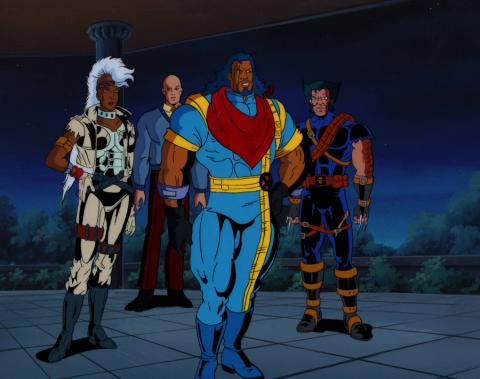 X-Men Production Cel & Background - ID: xmen3613 Marvel