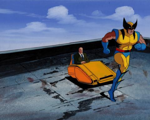 X-Men Production Cel & Background - ID: xmen3615 Marvel