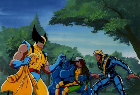 X-Men Production Cel - ID: xmen3619 Marvel