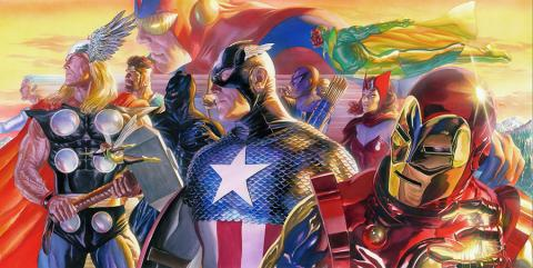 Invincible Signed Limited Edition Print - ID: AR0166DL Alex Ross