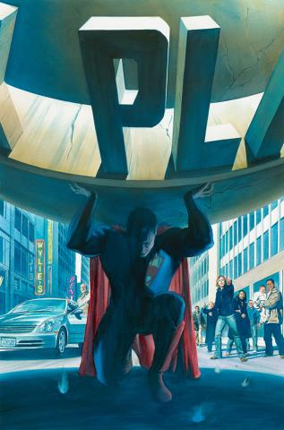 Superman: Saving the Planet Limited Edition Print - ID: AR0311ML Alex Ross