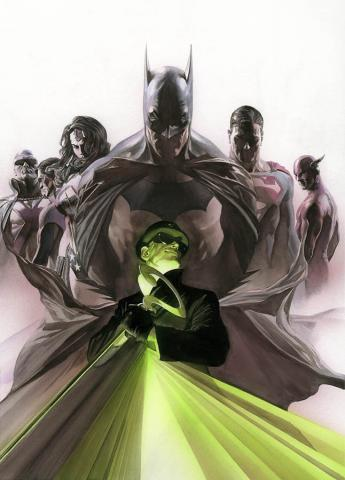 Enigma Signed Giclee on Paper Print - ID: AR0315P Alex Ross