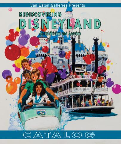Softcover Rediscovering Disneyland Catalog - ID: auc0016soft Disneyana