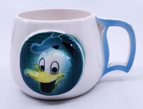 Vintage Donald Duck Souvenir Disneyland Mug  - ID: aprdisneyland20241 Disneyana