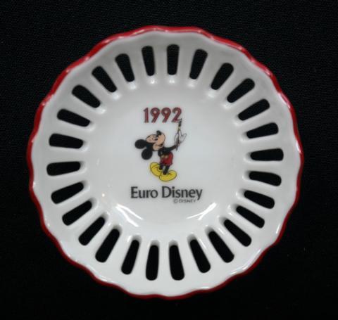 Euro Disney 1992 Miniature Dish - ID: aprdisneyland21307 Disneyana