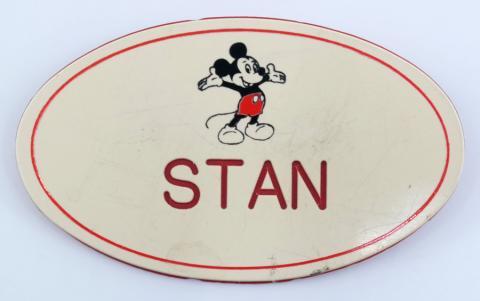Disneyland Cast Member Name Tag - ID: aprdisneyland21379 Disneyana