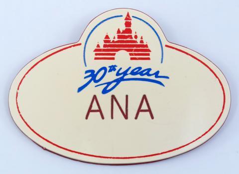 Disneyland Cast Member Name Tag - ID: aprdisneyland21382 Disneyana