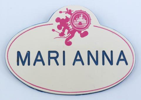 Disneyland Cast Member Name Tag - ID: aprdisneyland21386 Disneyana