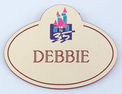 Disneyland Cast Member Name Tag - ID: aprdisneyland21387 Disneyana