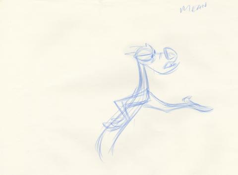 Mulan Production Drawing - ID: aprmulan21045 Walt Disney