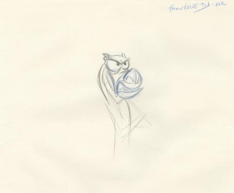 Mulan Production Drawing - ID: aprmulan21047 Walt Disney