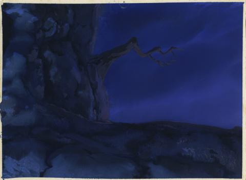 Secret of Nimh Background Color Key Concept - ID: aprnimh21054 Don Bluth
